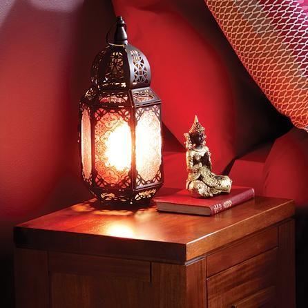 Marrakech Lantern Table Lamp Dunelm Lighting Decor PinItToWinIt Comp