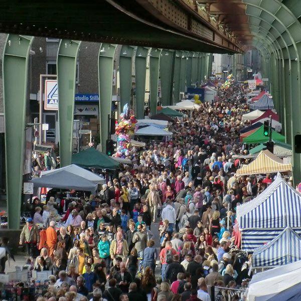 43. Vohwinkeler Flohmarkt 2014 am 28. September 2014