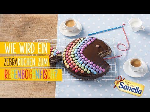 Zebrakuchen-Regenbogenfisch Rezept | Sanella