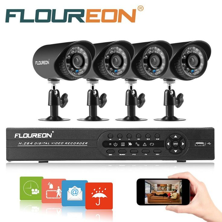 57 best CCTV DVR kit images on Pinterest | Night vision, Bullet ...