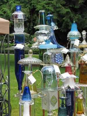 glass garden art | Glass Garden Art