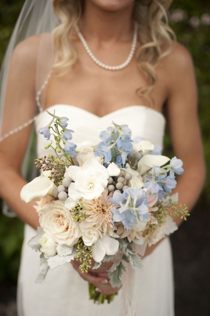 Beach Chic Light Blue and Peach Wedding - Every Last Detail