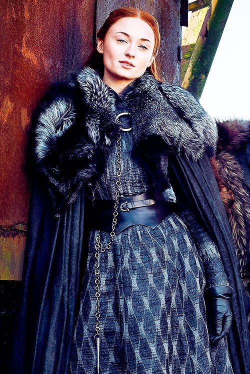 "sansadaily:  ""The Lady of Winterfell  """