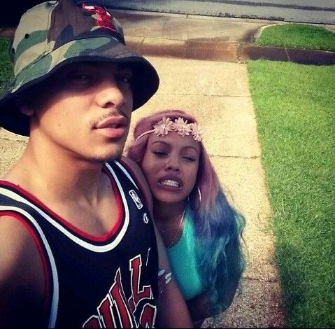 Breaunna Womack from the OMG Girlz her boyfriend RJBreaunna Womack Boyfriend
