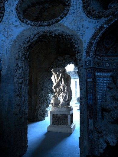Nuova illuminazione nella grotta del Buontalenti