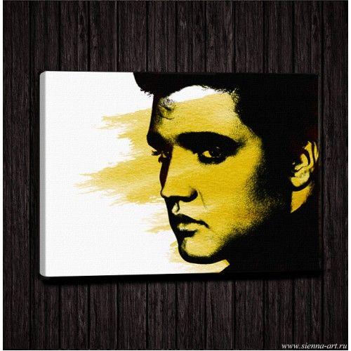 """Poster Elvis Presley Постер на холсте """"Элвис Пресли"""""""
