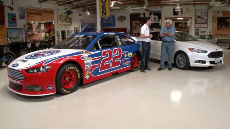 Leno talks racing with NASCAR racer Joey Logano.  Contact the Overhead Door Company of South Bend, Indiana if you are seeking a new garage door or need replacement. 1800-OVERHEAD or www.1800OVERHEAD.com