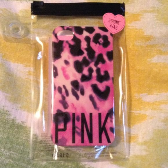 Selling this pink iphone 4 4s animal print case in my for My secret case srl