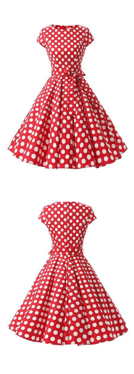 polka dots dresses,vintage style dresses.rockabilly dresses,ruched retro dresses,50s dresses