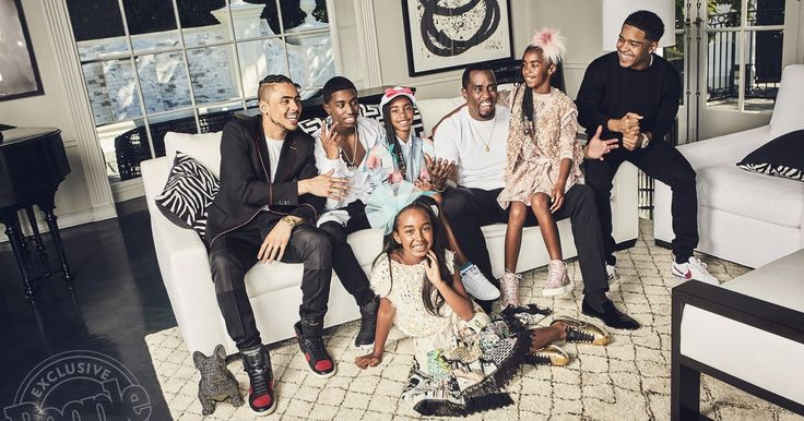 Inside Sean 'Puff Daddy' Combs' Life at Home with Six Kids: 'I'm the Luckiest Man in the World'