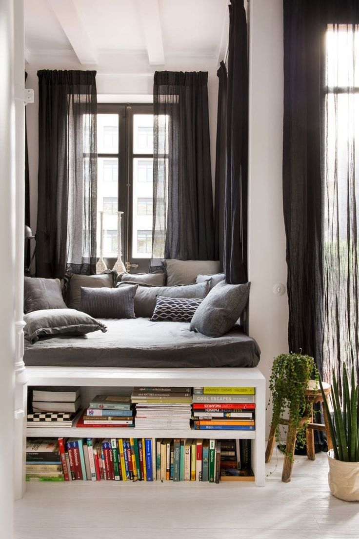 You might have to do a little more work to make up the bed, but there's no denying the appeal of these tucked-away sleeping spaces. Alcove beds, nook beds, whatever you wish to call them, are certainly the cozy bedroom hideaway we'd love to have in our home.