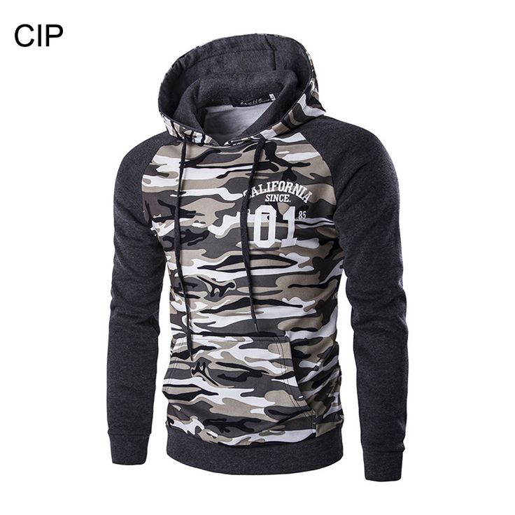 New Arrival Military Camouflage Men Hoodies Patchwork Pullover Hooded Sweatshirt Men Casual Camouflage Men Sudadera Hombre