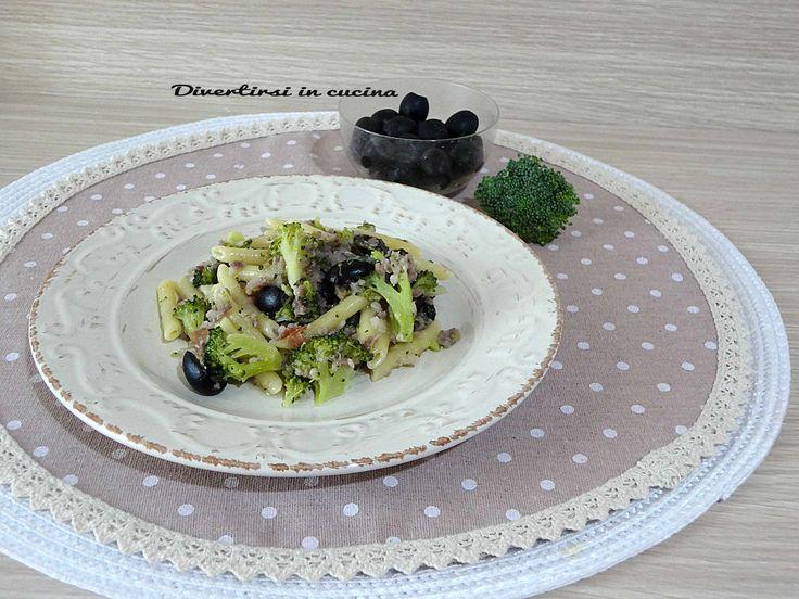 Pasta+broccoli+salsiccia+e+olive+Bimby