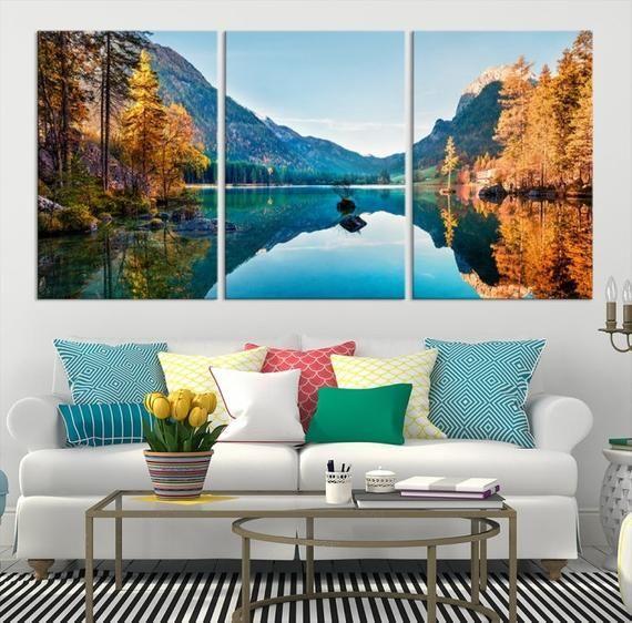 Extra Large Landscape Photography Wall Art Canvas Print Etsy Large Canvas Wall Art Wall Art Canvas Prints Tree Wall Art
