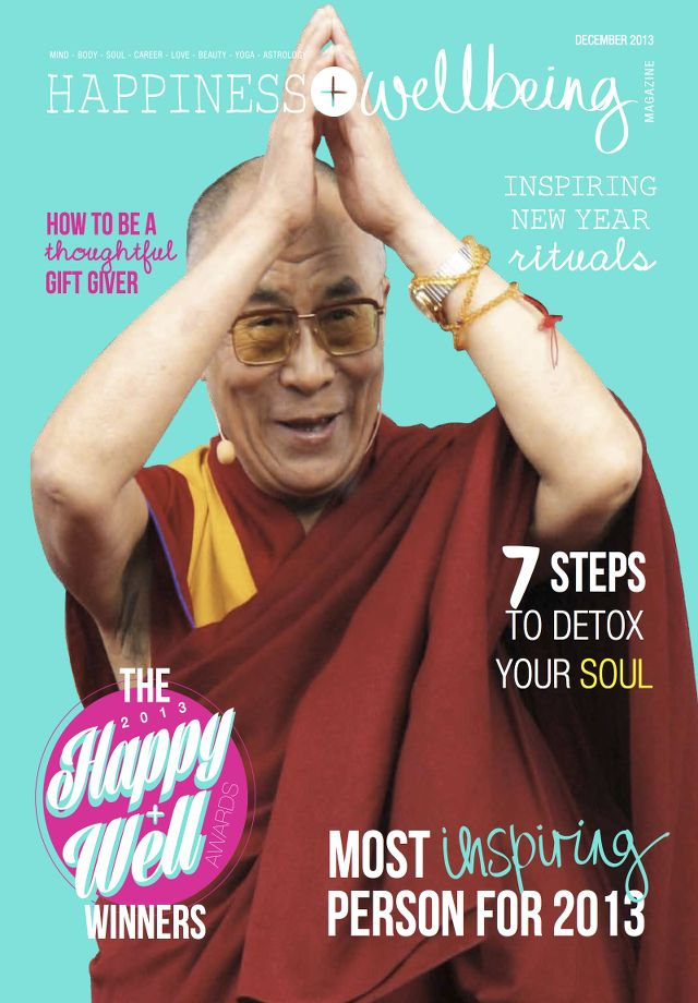 Christmas Giveaway: Win a three-month subscription to Happiness + Wellbeing Magazine! Visit http://thisislifeblood.com/christmas-giveaway-happiness-wellbeing-magazine-subscription/ for entry details.