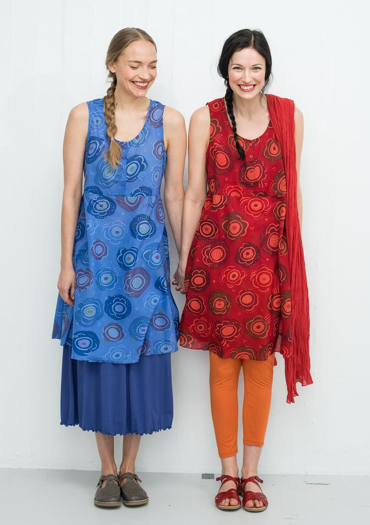 """""""Carmen"""" cotton dress – New arrivals – GUDRUN SJÖDÉN – Webshop, mail order and boutiques 