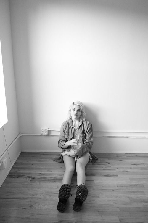 Sky Ferreira at my studio #6