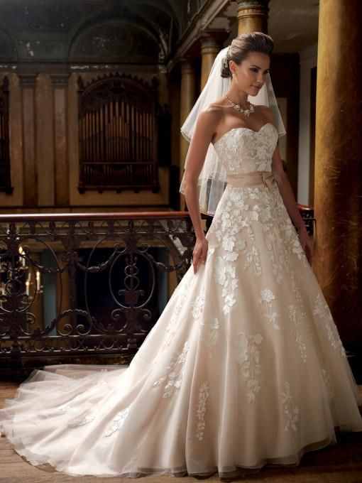 Stunning David Tutera Hillary All Dressed Up Bridal Gown