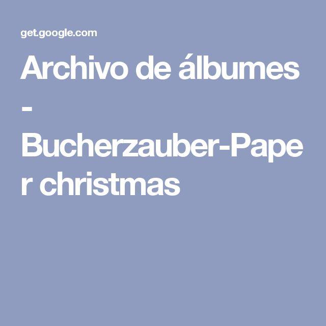 Archivo de álbumes - Bucherzauber-Paper christmas