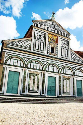 San Miniato al Monte - Florence, Italy