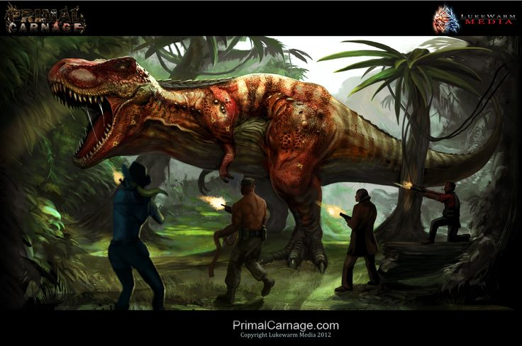primal carnage | Primal Carnage: Concept Art image