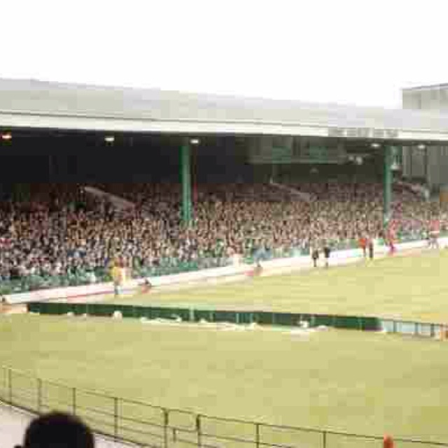My Memory Of Celtic Visited The Old Park In To See A Game Against St Mirren