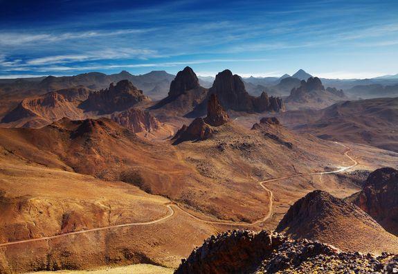 Les Montagnes Tibesti