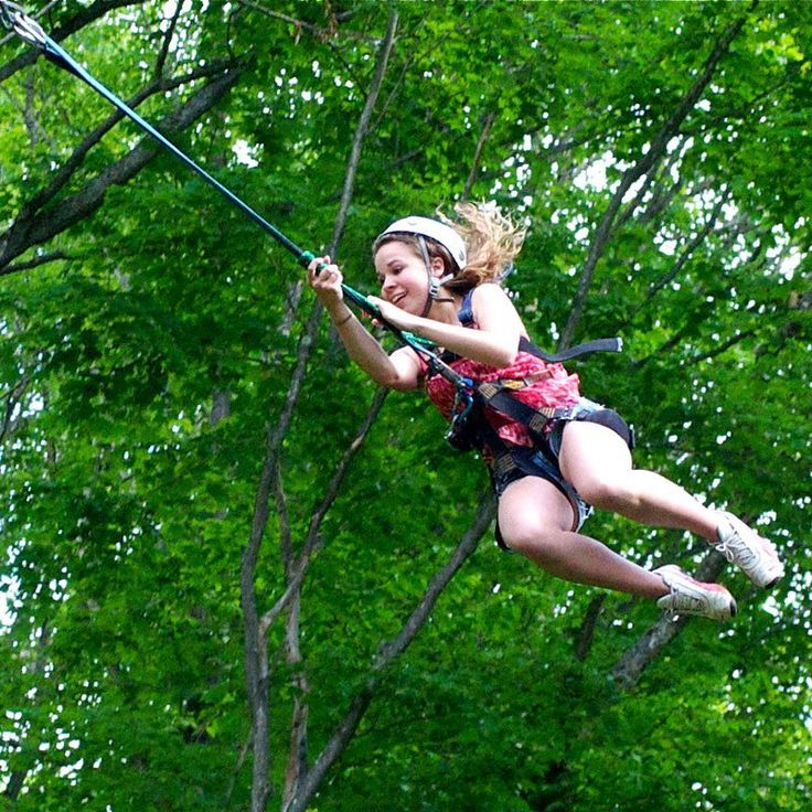 Swing into a exciting adventure with your students at Camp Onondaga!   #GoDiscoverInspire  .  .  .  .  .  #brightsparktravel #travel #explore #explorecanada #camp #fun #nature #travelphotography #green #trees #swing