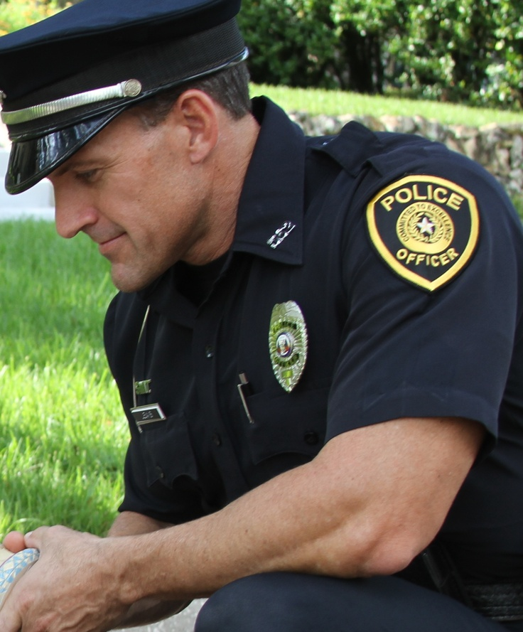 Custome police patches for coptech does not show a city