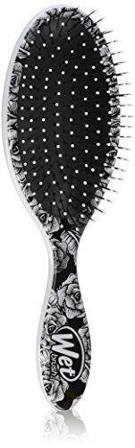 Wet Brush Pro Detangle Hair Brush, Sugar Skulls White. For product & price info go to:  https://beautyworld.today/products/wet-brush-pro-detangle-hair-brush-sugar-skulls-white/