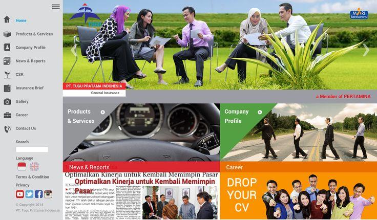 Website Corporate - PT.Tugu Pratama Indonesia ver.3 #WebDesign #WebDevelopment #PT_TuguPratamaIndonesia #GeneralInsurance #Jasa_Pembuatan_Website #WebCorporate