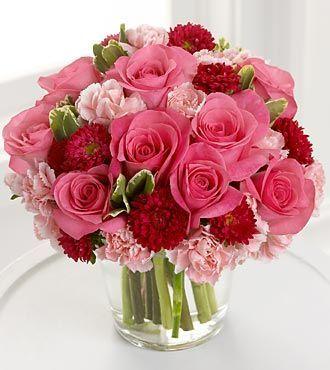 132 best Valentine\'s Day images on Pinterest | Flower arrangements ...