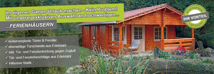 Ferienhäuser 70 mm von Wolff Finnhaus bei Gartenhaus2000