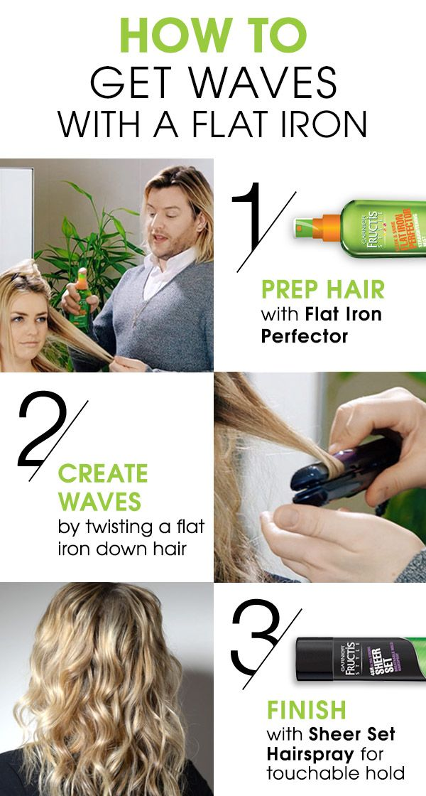 Looking to get beautiful, loose waves? Follow these quick and easy tips from celebrity stylist Tommy Buckett and give your hair beautiful texture using Flat Iron Perfector, Sheer Set Hairspray and a flatiron. Watch the full How-To at garnierstyle.com