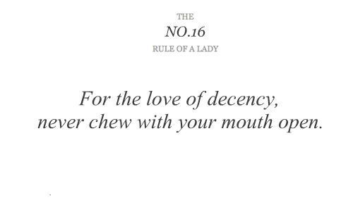 the rule of a lady tumblr   ladies, lady, rule of a lady, rules of ladies - inspiring picture on ...