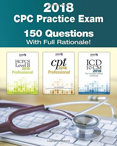 Best 25 practice exam ideas on pinterest prep medication rn cpc practice exam 2018 includes 150 practice questions answers with full rationale exam fandeluxe Images