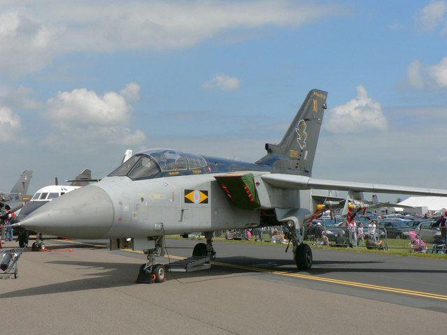 Tornado F3, 11 Sqn RAF, Waddington. On static display at RAF Waddington Open Day, 2 July 2005.