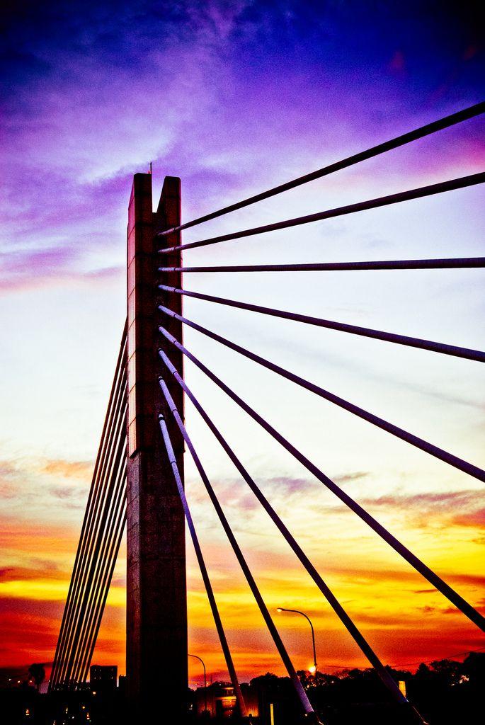 Pasoepati Bridge - Bandung, Indonesia