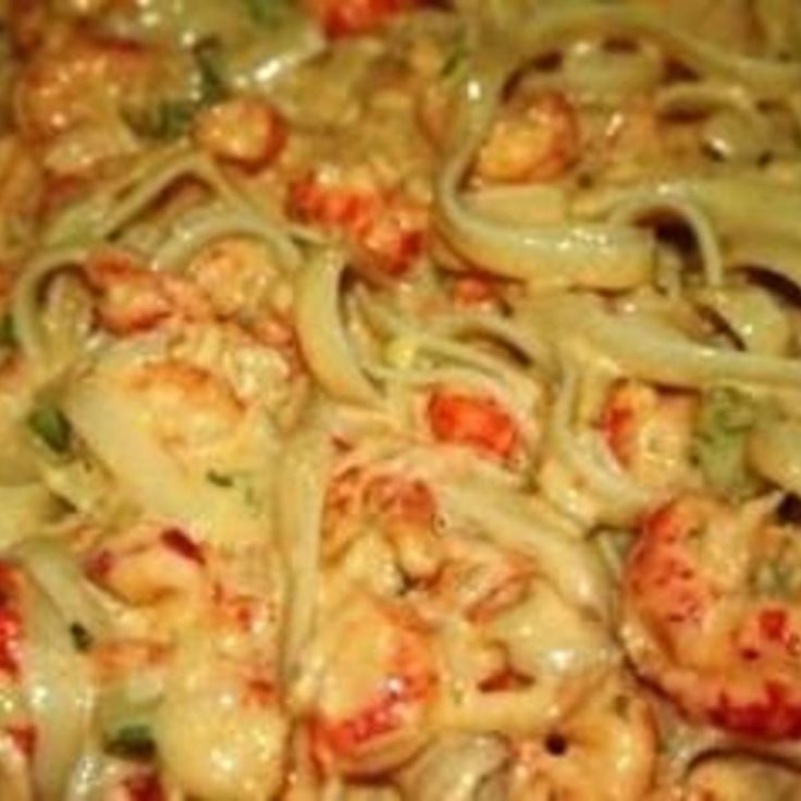 Unlike Crawfish Etoufee, this rich creamy dish is so simple, with only a handful of ingredients, yet very flavorful. Some recipes get too complicated and the original Crawfish Monica recipe just didn't have all that stuff in it. Try this for yourself and see what I mean. Use ONLY Louisiana Crawfish - Not Chinese. If those aren't available then substitute the crawfish with small shrimp 60-70 count.  Images temporarily borrowed from all over the internet until I make it again.