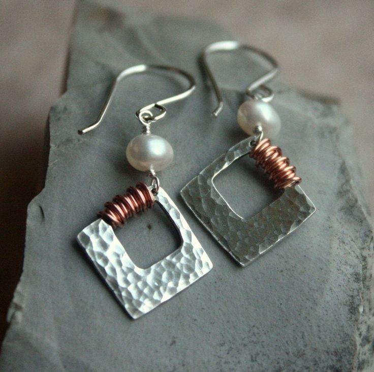 Canyonlands Earrings | Etsy  – Metalsmithing