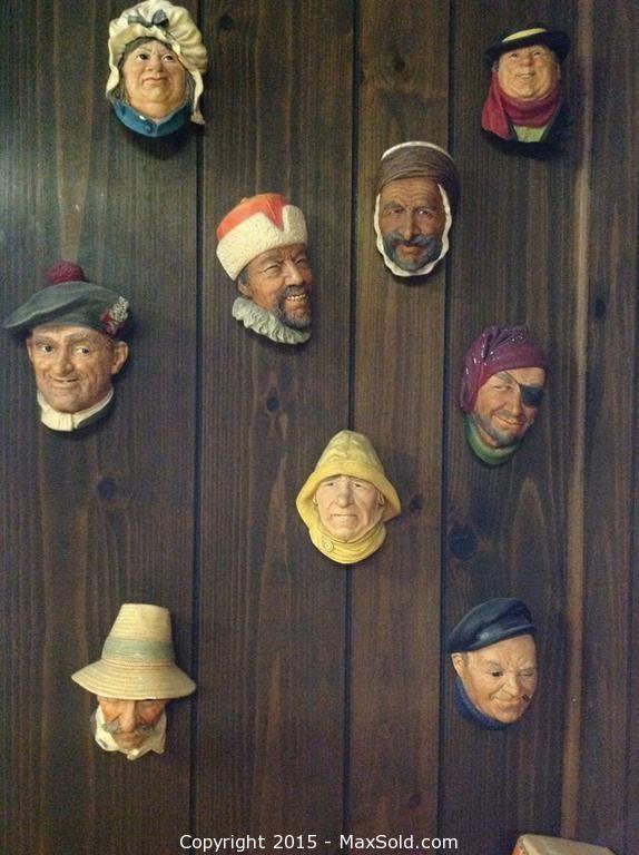 MaxSold - Auction: Elizabeth (New Jersey, USA) Estate Online Auction - Pennington St ITEM: Bossons Heads