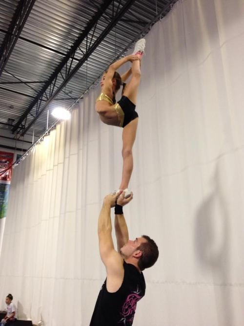 #cheer #cheerleading #stunt #sport