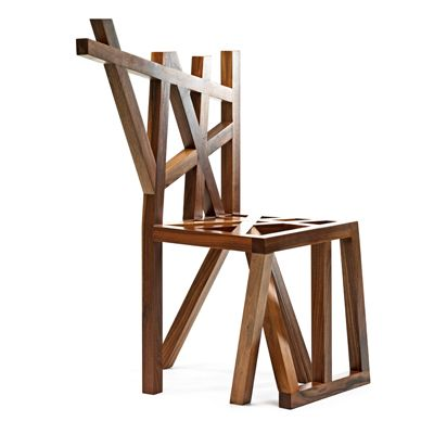 Design Junction: Nature Inspired Wood Chair Design By Vido Nori