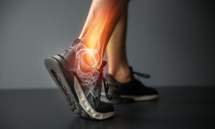 Sprunggelenk - Muskel- und Gelenkschmerzen: was wir spüren..