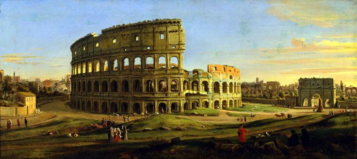Caspar van Wittel – Galleria Sabauda. Il Colosseo (1711)