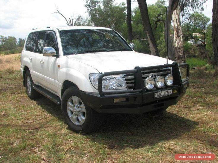 2005 Toyota Landcruiser HDJ100R Upgrade Sahara (4x4) White Automatic 5sp A #toyota #landcruiser #forsale #australia