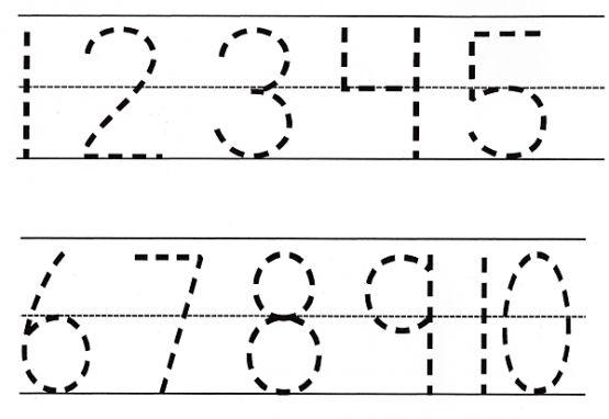 Kindergarten Worksheets Letters And Numbers