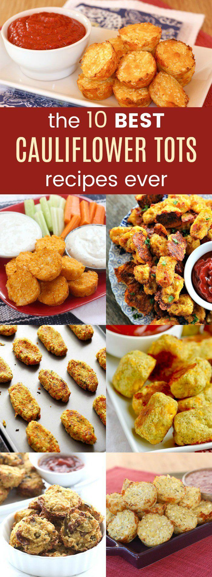 2161 best parade magazines best recipes images on pinterest the 10 best cauliflower tots recipes ever forumfinder Gallery