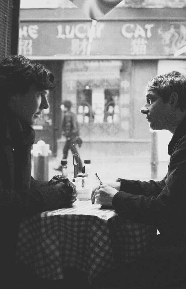 "Sherlock BBC ""The Blind Banker"" (1x02) - John and Sherlock"