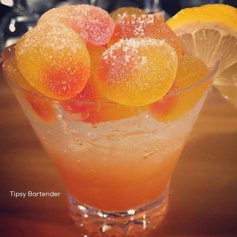 Vodka and Peach Schnapps is one amazing combination for our Peach Sour Spritzer! Recipe? Click Here! http://www.tipsybartender.com/blog/peach-sour-spritzer